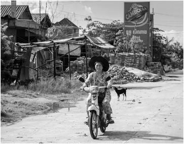 Slum street scene