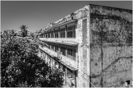 Cambodian genocide museum, Phnom Penh