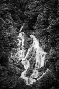 Hidden waterfall in the bush...