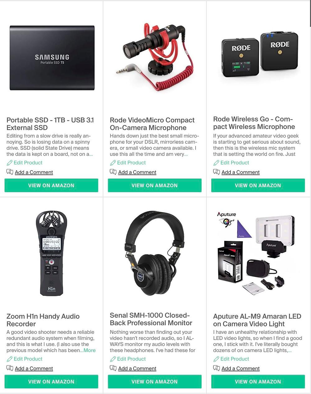 Video accessories under $100