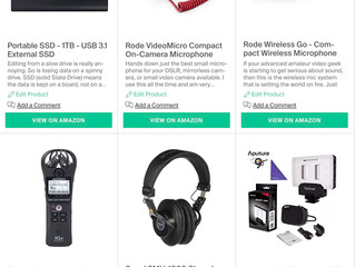 Top video accessories for the video geek in your life...