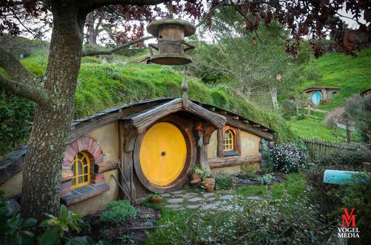 Hobbiton the movie set...