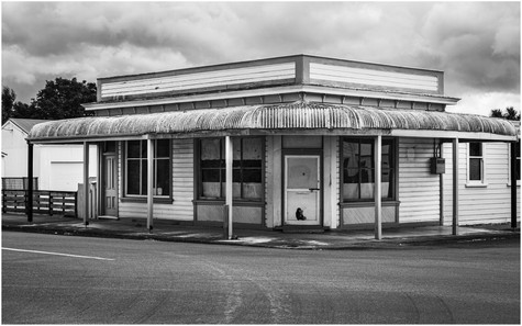 Classic Kiwi corner store building...