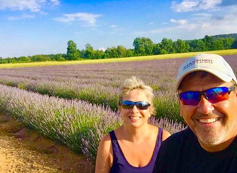 Jeff and Nadia Lavender Field 2.jpg
