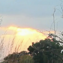 Sunrise over Mozambique