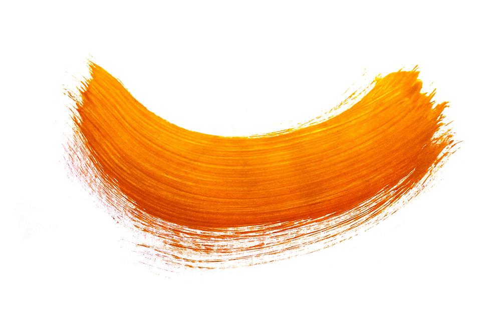 Orange red brushstroke watercolor patter