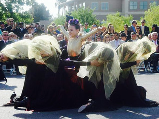Armenian Dance Academy of Las Vegas by Gohar Markarian Performing at The Groundbreaking Ceremony of