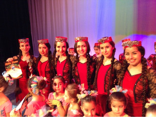We Won The First Place In Armenian Dance Category at International Festival