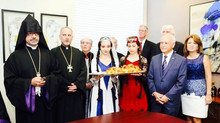 Armenian Dance Academy of Las Vegas by Gohar Markarian Congratulates Ardoushan Andy Armenian as the