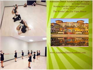 Armenian Dance Academy of Las Vegas by Gohar Markarian Getting Ready For Dance Competition at The We