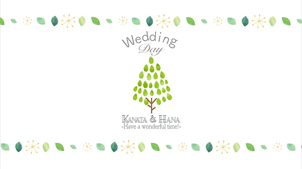 オープニングムービー|HAPPY LAB|ハッピーラボ |北欧style|かわいい|おしゃれ|結婚式