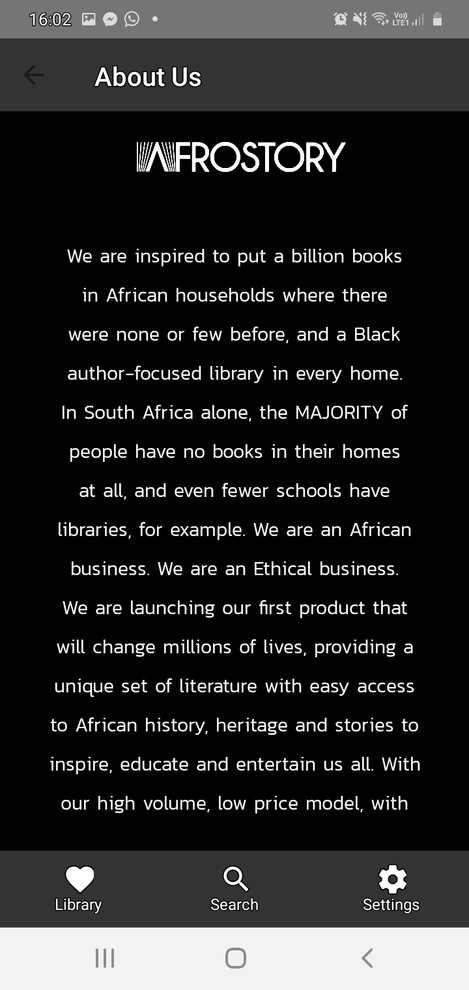 About AfroStory
