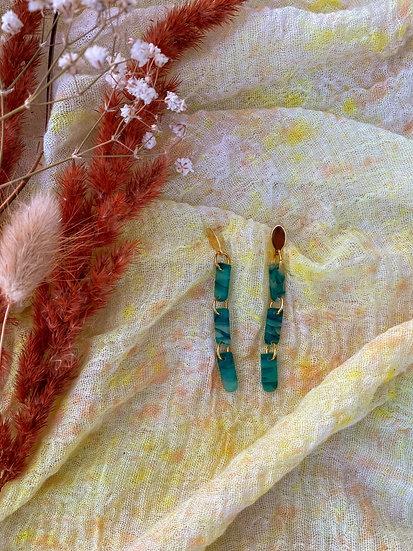 Emerald dainty dangle