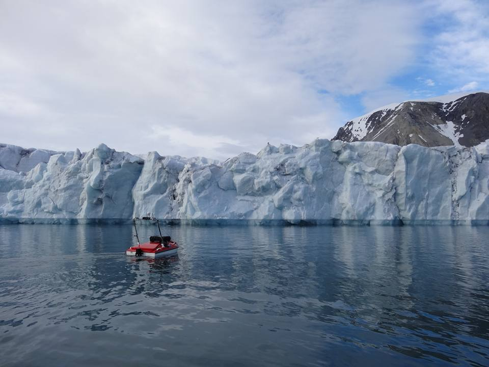 Aproaching ice