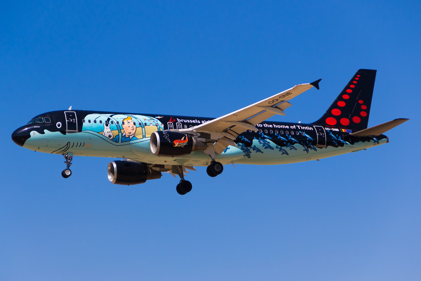 OO-SNB Brussels Airlines A320