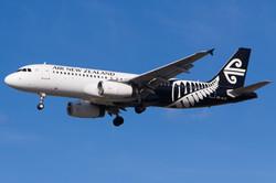 ZK-OJC Air New Zealand A320 (1)