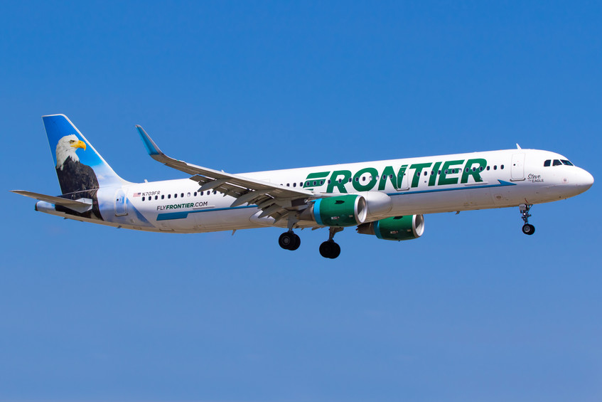 N709FR Frontier A321