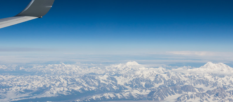 Roundtrip at Alaska (USA)