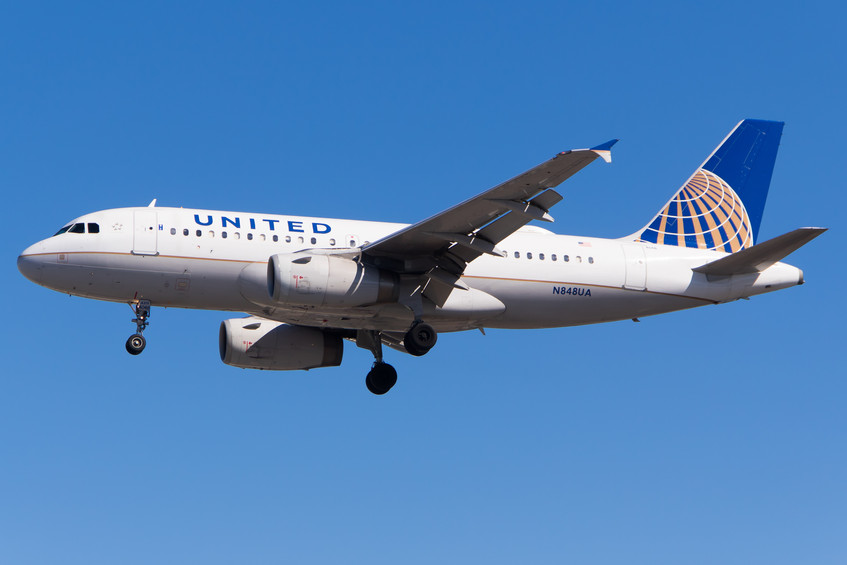 N848UA United Airlines A319