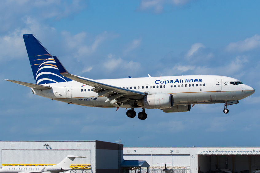 HP1531CMP COPA Airlines B737