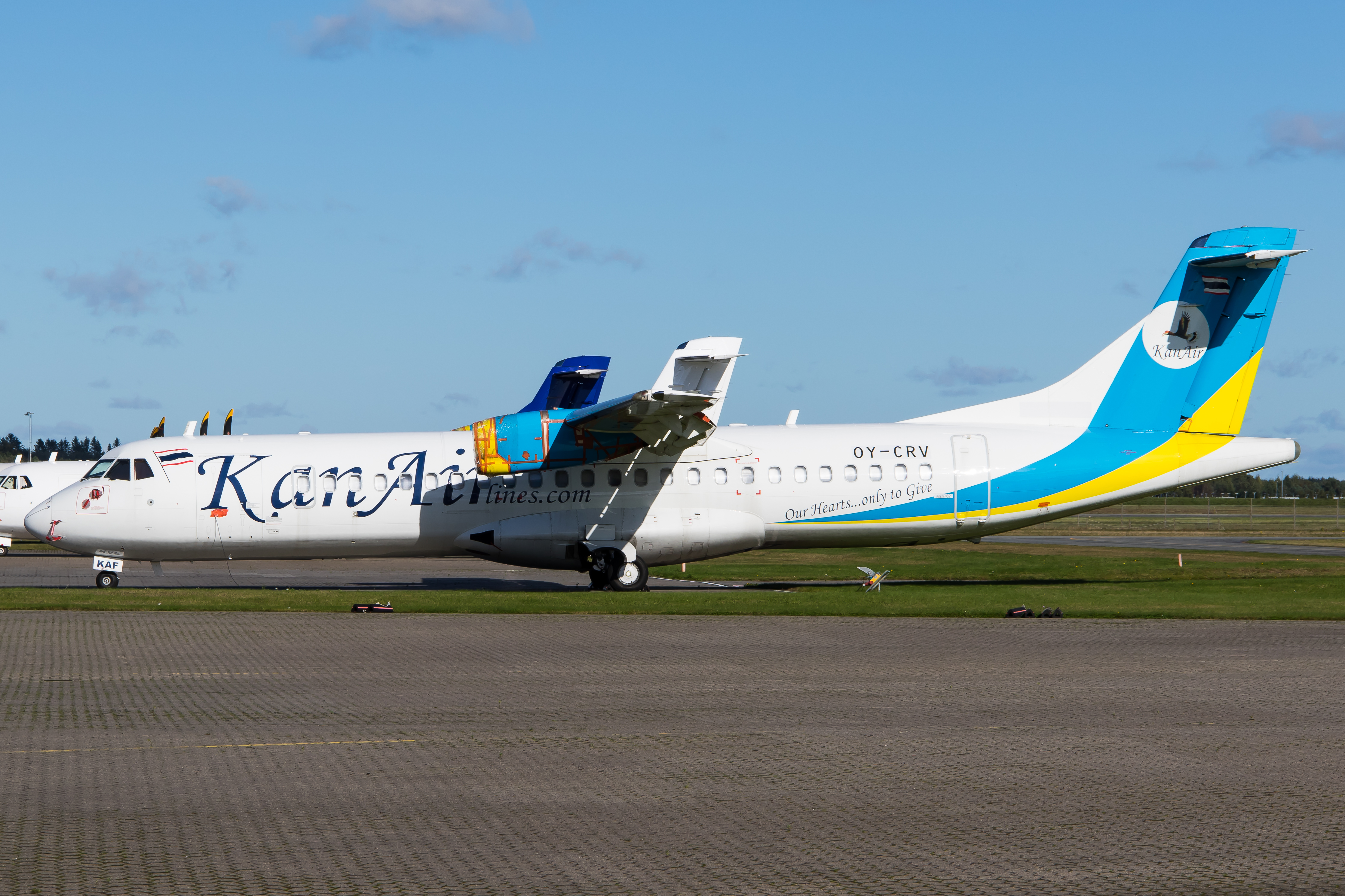 OY-CRV Kan Airlines ATR72
