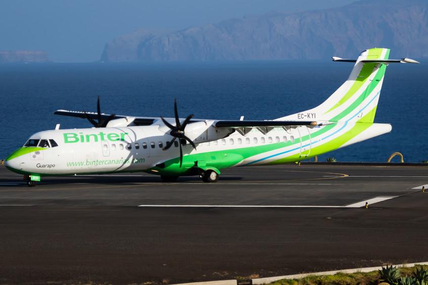 EC-KYI Binter Canarias ATR72-1
