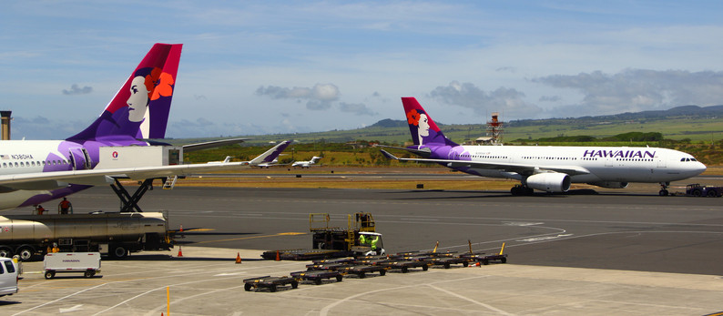 One hour Stopover at Kahului (OGG)