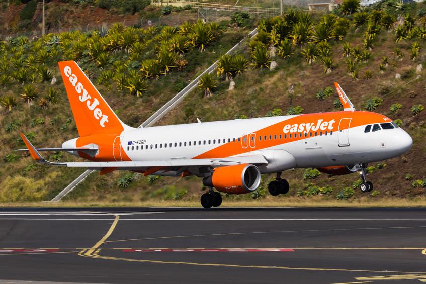 G-EZRH EasyJet A320