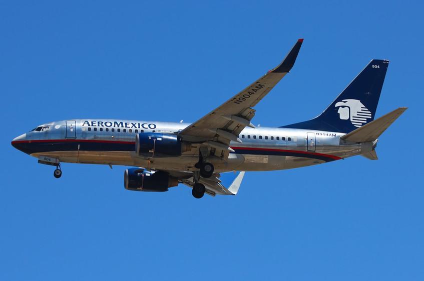 N904AM Aeromexico B737