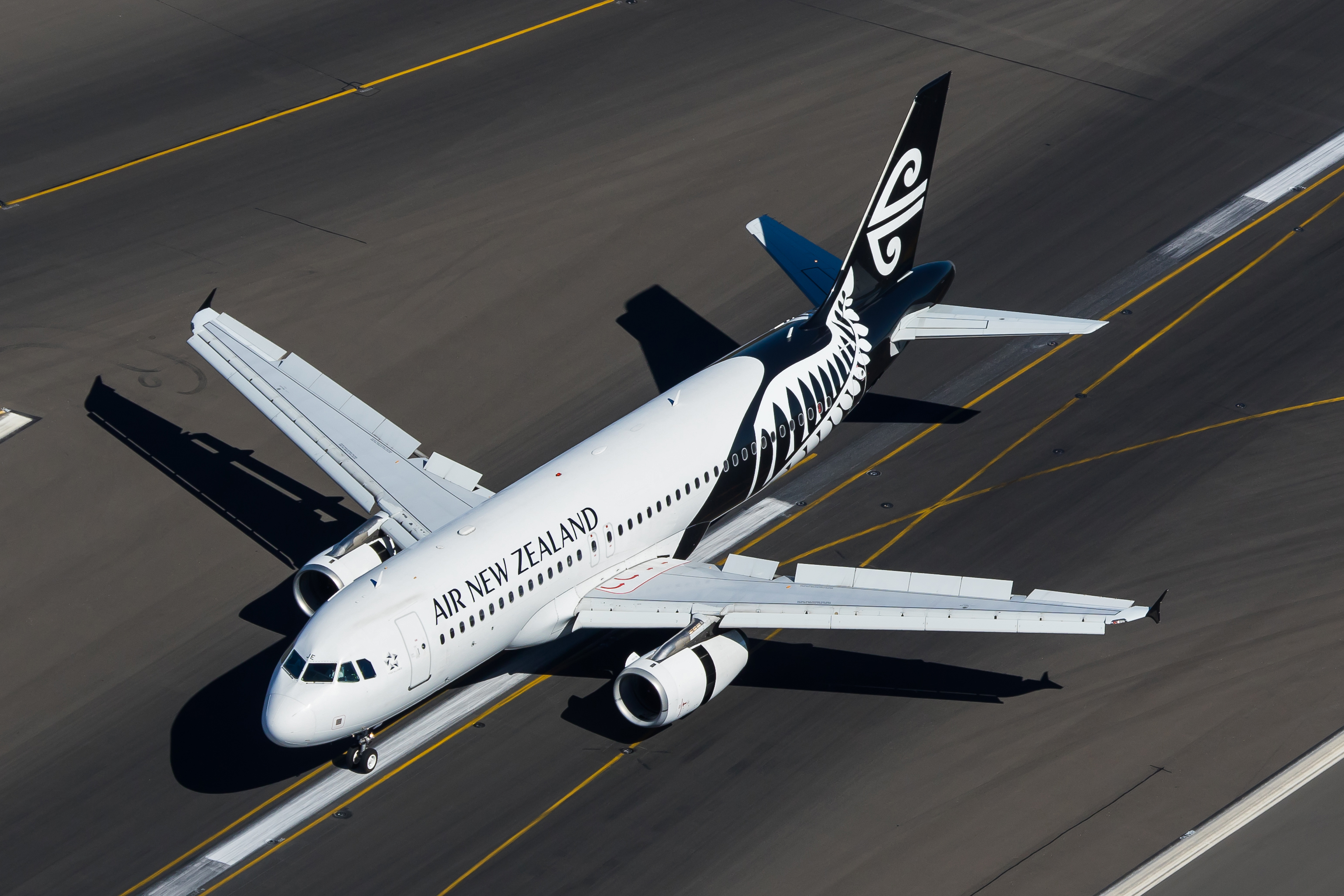 ZK-OJE Air New Zealand A320-200