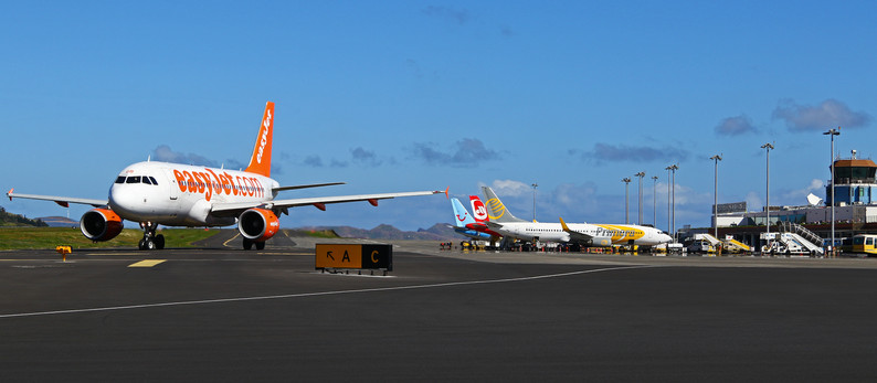 """Madeira """"The Flower Island"""" with the special one Airport in February 17"""