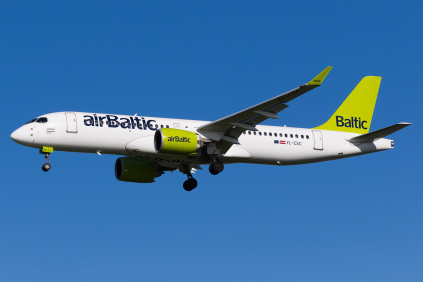 YL-CSC Air Baltic CS300