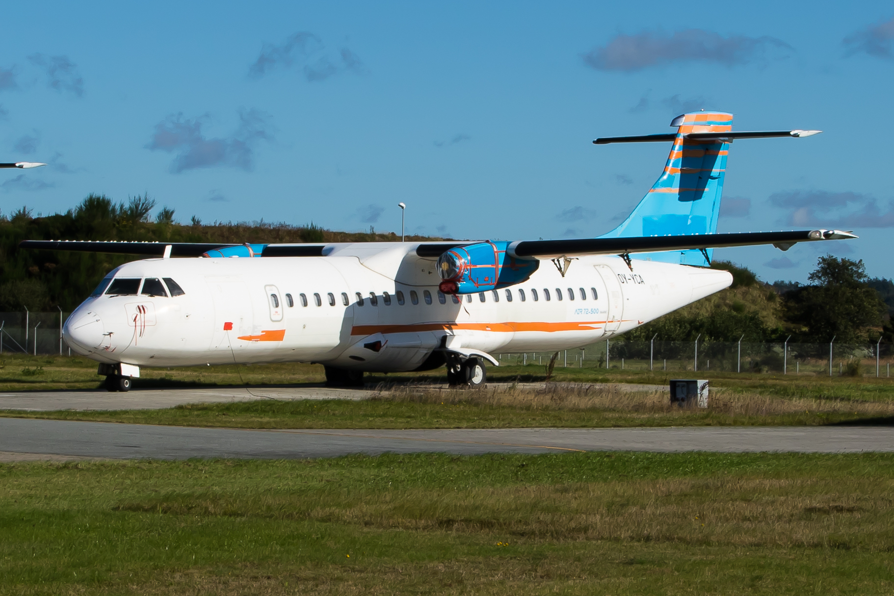OY-YCA Nordic Aviation Capital ATR72