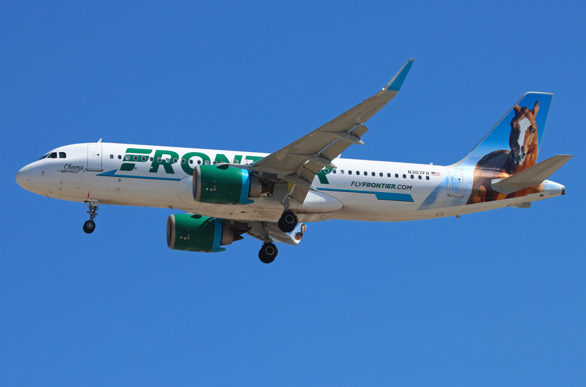 N307FR Frontier Airlines A320neo