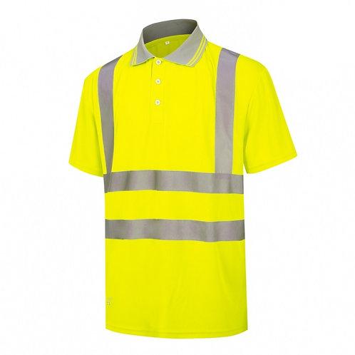 High Visibility Polo Shirt Yellow