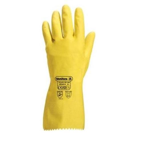 Latex working gloves