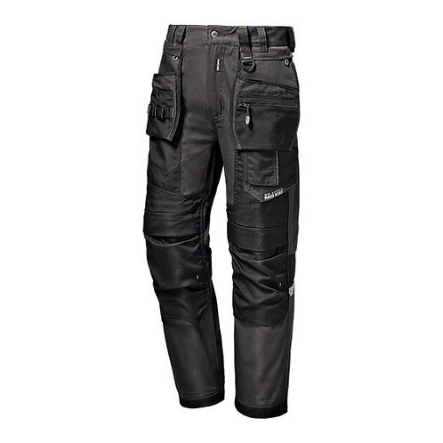 WORKWEAR TROUSERS CANVAS GREY HEAVY SERIES