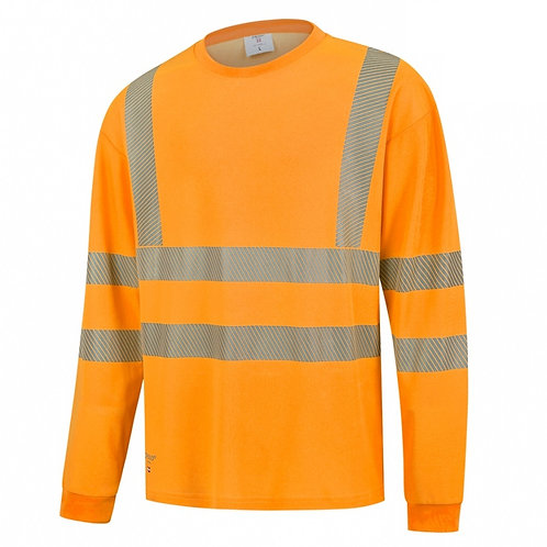 Long Sleeve Orange Hi Vis Shirt