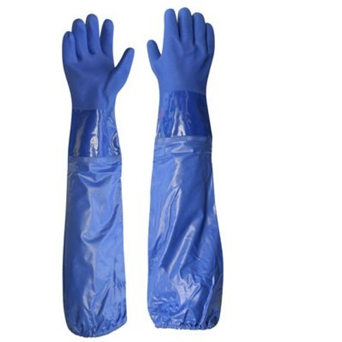 Gripped working gloves