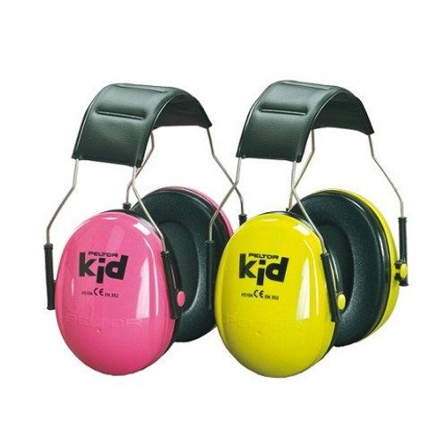 3M™ PELTOR™ Kids Ear Muffs, Neon Green, Pink, H510AK