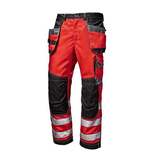 Hi-Vis Trousers Red