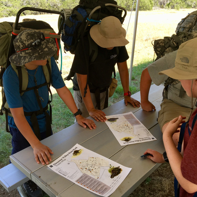 Squad STX Tactical Camping for Boys - route planning