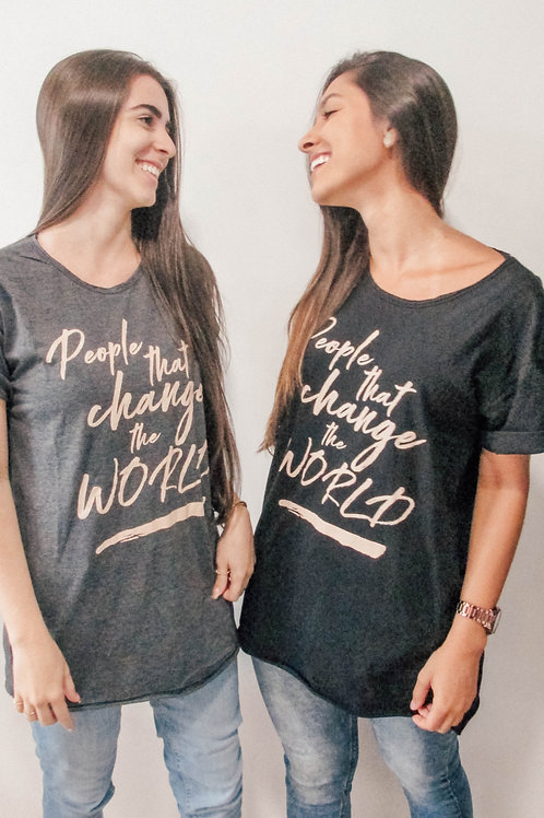 Camisa Unissex People That Change the World