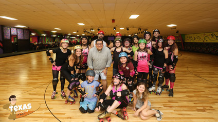 South Side Roller Derby in Pearland, Texas