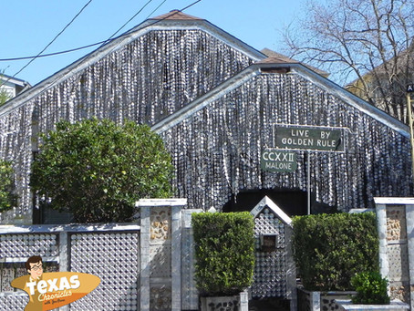 Houston's Famous Beer Can House