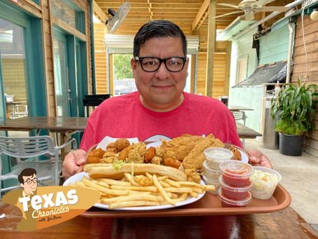 Shrimp 'N Stuff in Galveston, Texas!