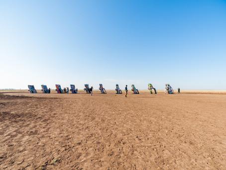 Cadillac Ranch-Amarillo, Texas
