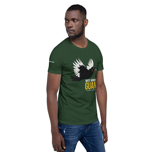 White-Winged Guan Short-Sleeve Men T-Shirt