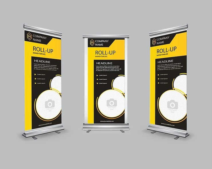 jual stand banner