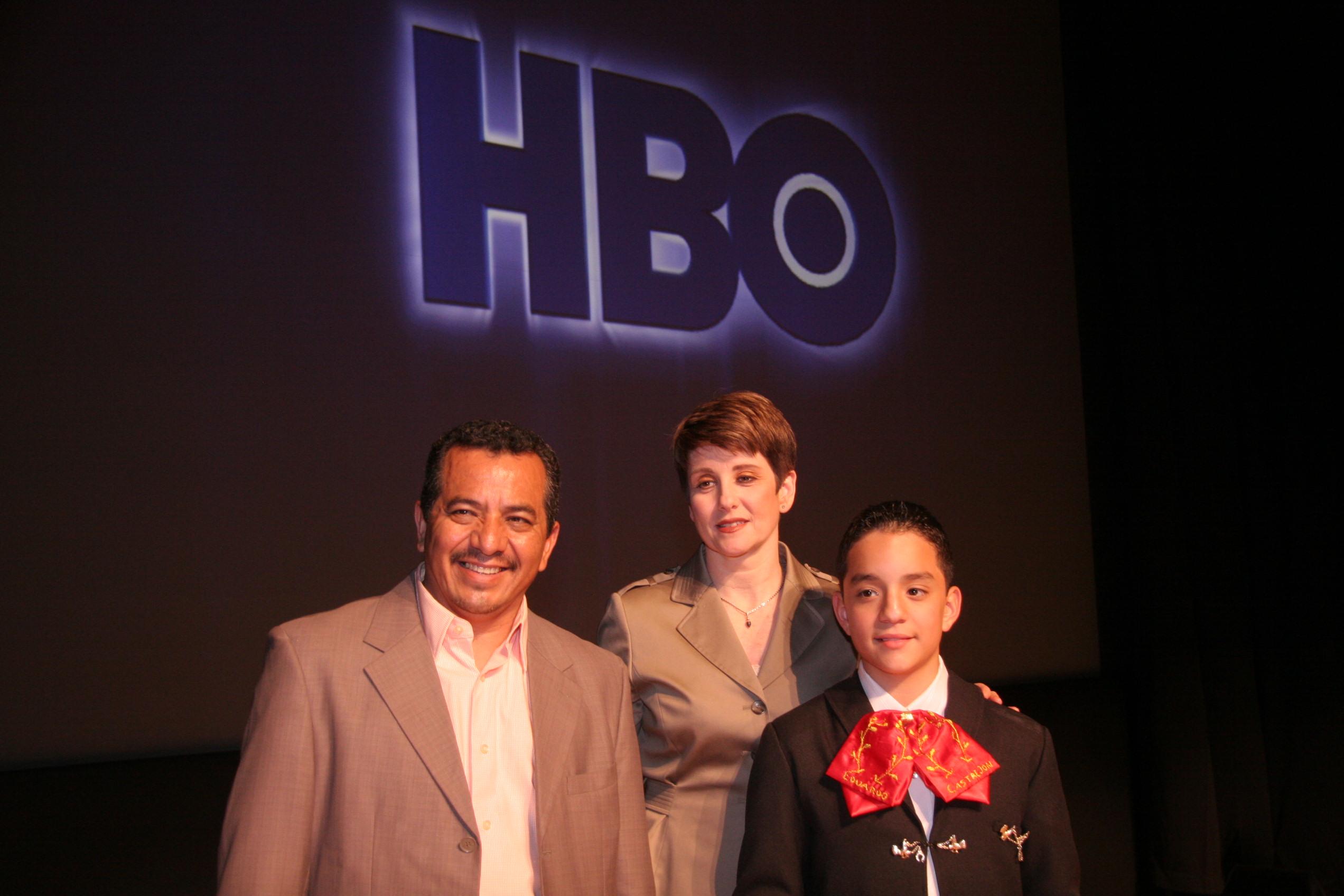 Leslie, Eduardo, & Eduardo's father